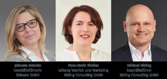 Johanna Belecke, Flora-Maria Simoes, Michael Kisling